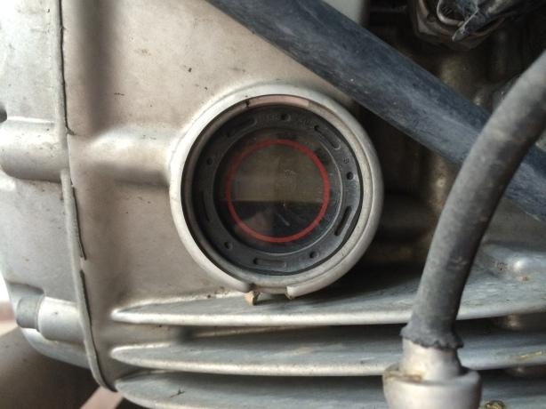 Nivel de aceite tras 5.000 km de la revisión de los 60.000 km